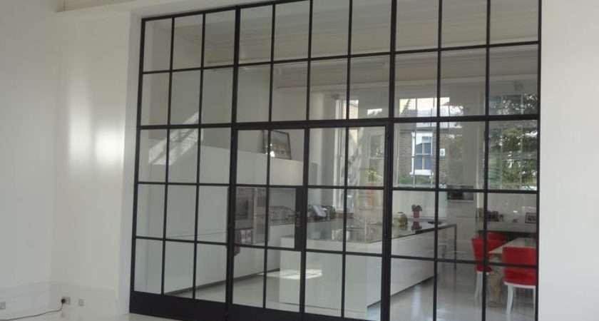 Crittall Window Screen Spatial Design Pinterest