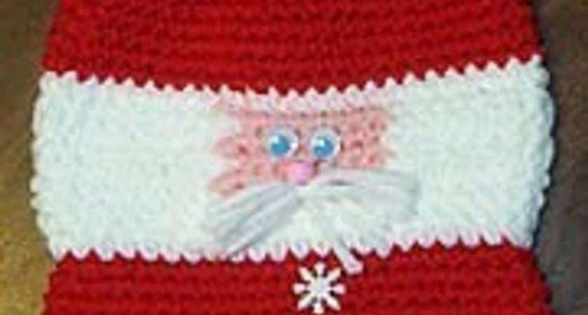 Crochet Pattern Santa Gift Bag