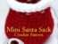Crochet Santa Sack Pattern Hooked Patterns