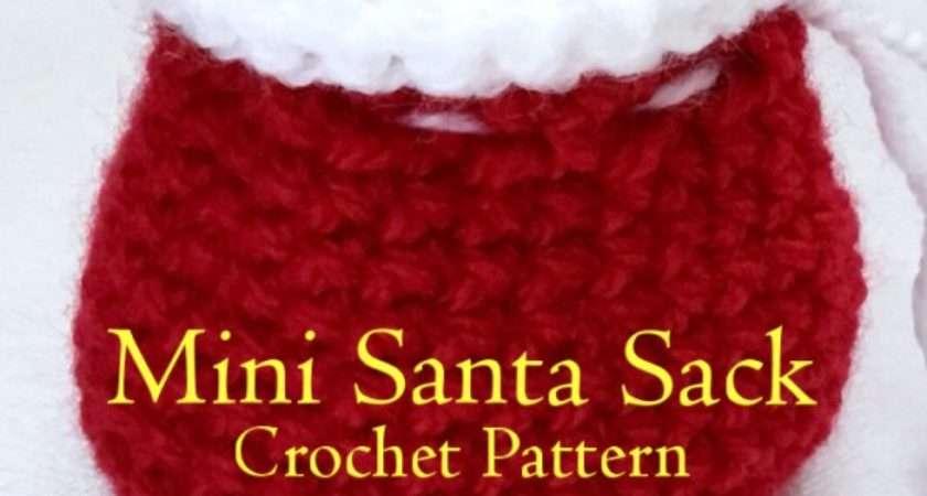 Crochet Santa Sack Pattern Hooked Patterns