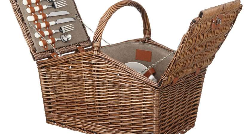 Croft Collection Filled Picnic Hamper Person John Lewis