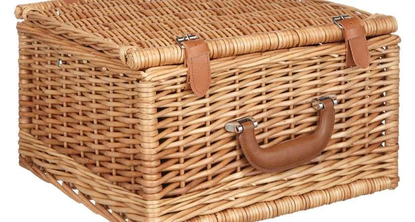 Croft Collection Person Luxury Wicker Picnic Hamper