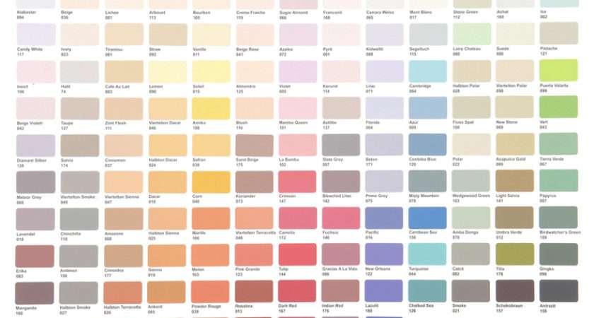 Crown Paints Colour Chart Just