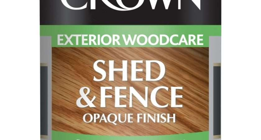 Crown Woodcare Fence Shed Stain
