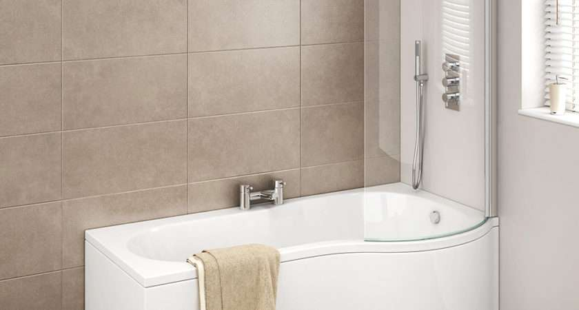 Cruze Shaped Curved Shower Bath Screen