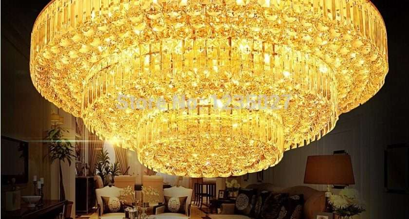 Crystal Lamp Traditional Gold Living Room Modern Bedroom Lamps