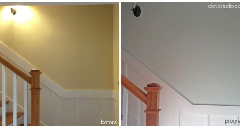 Current State Affairs Basement Stairs Paint Color