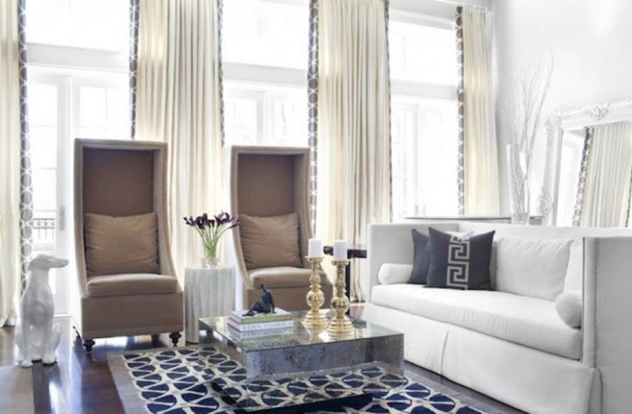 Curtain Ideas Living Room Modern