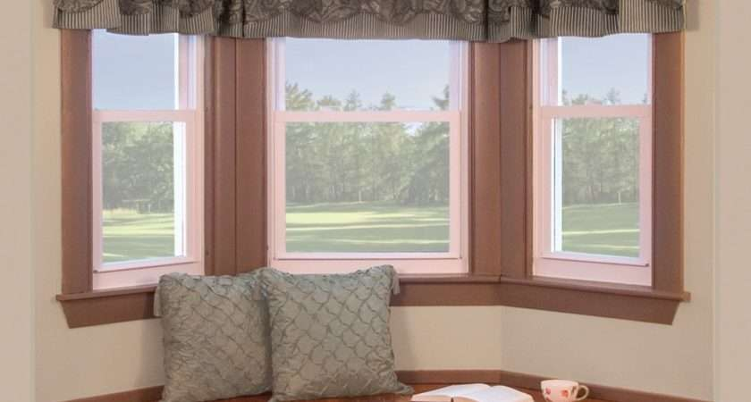 Curtain Rods Bay Windows Casual Cottage