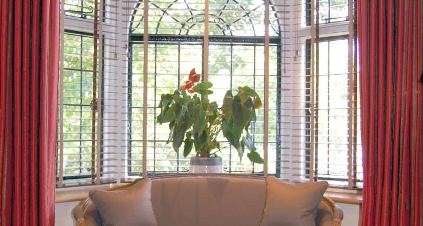 Curtains Bay Windows Furniture Ideas Deltaangelgroup