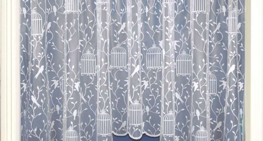 Curtains Jardinieres Lace Curtain Panel Ready