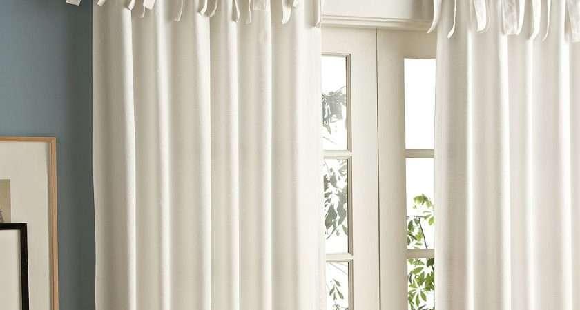 Curtains Tie Top Curtain Menzilperde