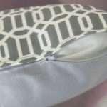 Cushion Cover Zip Tutorial