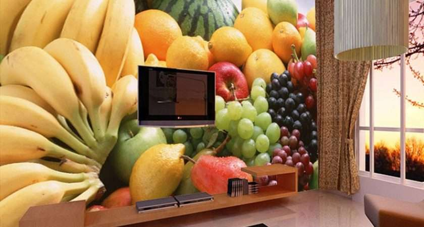 Custom Fruits Vegetables Decor Painting