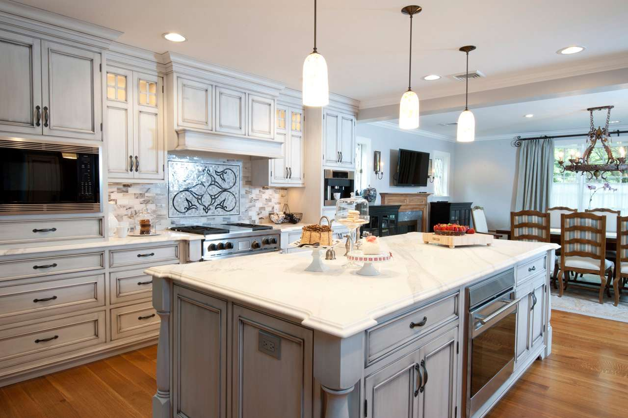 Custom Kitchen Cabinets Designs Great Neck Long Island