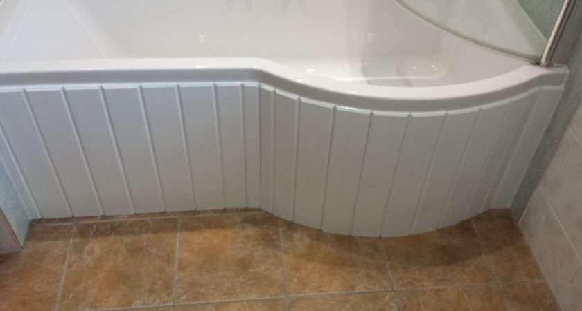 Custom Made Flexible Bath Panel Ideal Shaped Shower