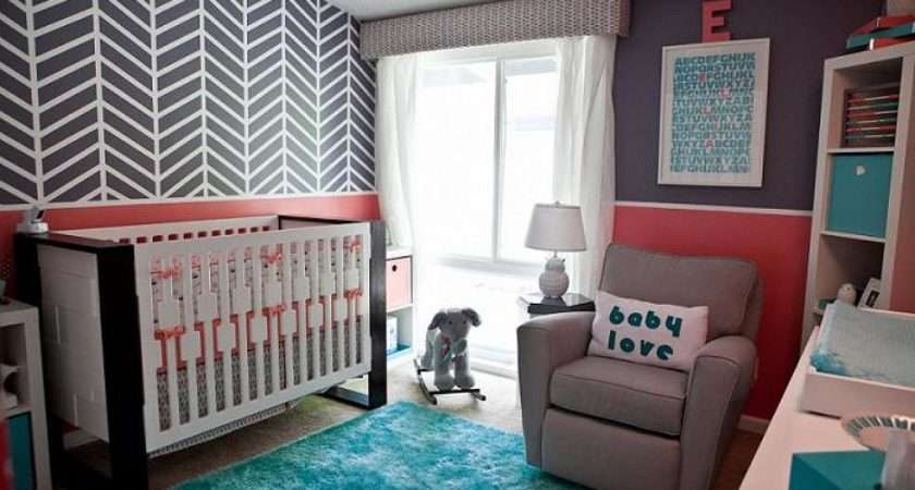 Custom Nursery Art Kimberly Modern Baby Girl Ideas