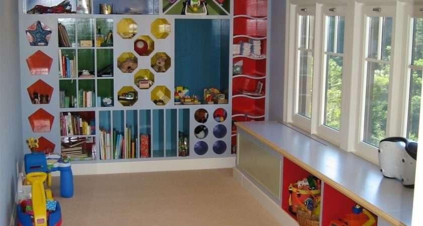 Custom Playroom Storage Cubbies Clay Baker Design Llc