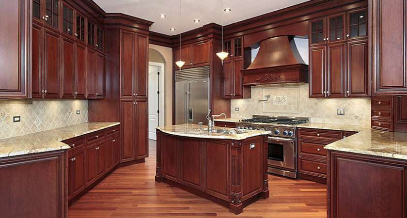 Custom Solid Wood Kitchen Cabinets Designing Idea