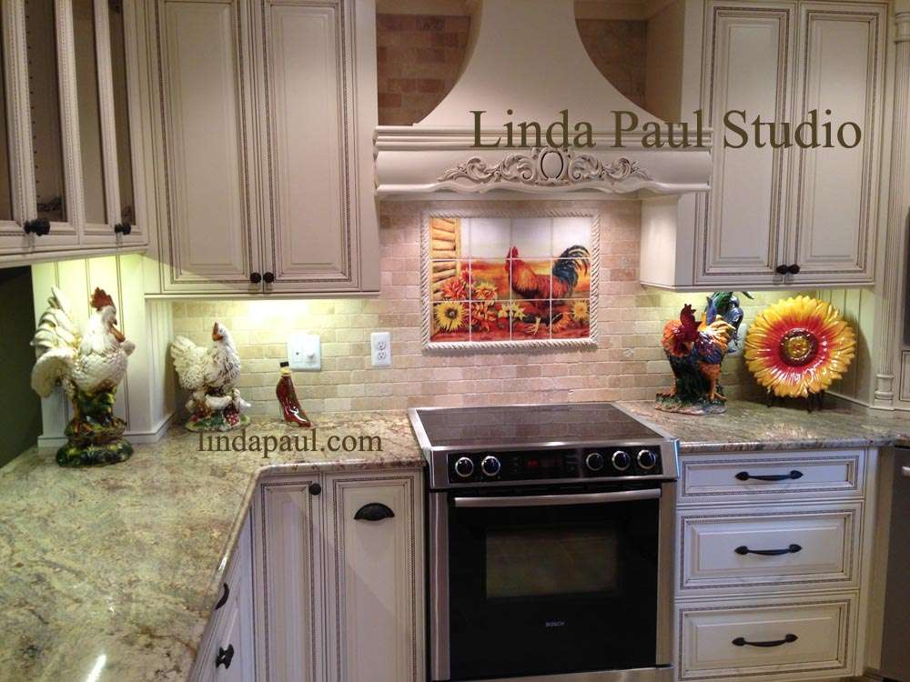 Customer Reviews Linda Paul Tile Murals Kitchen Backsplashes