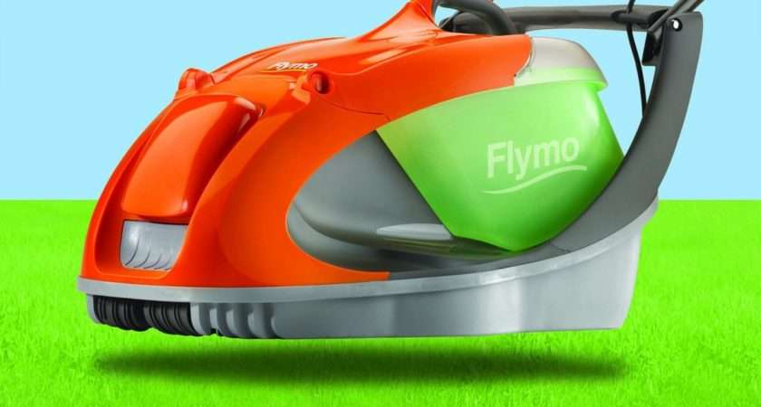 Cut Grass Ease Flymo Glider Electric Lawnmower