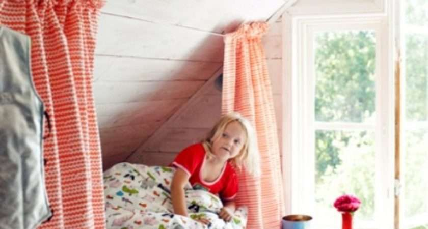 Cute Attic Bedroom Kids Frugal Fair