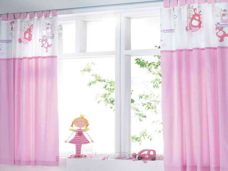 Cute Curtains Girls Room