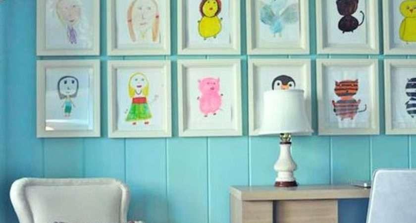 Cute Diy Wall Art Ideas Kids Room