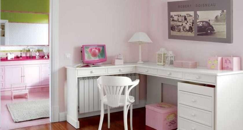 Cute Pink White Girls Bedroom Decor Kidsomania