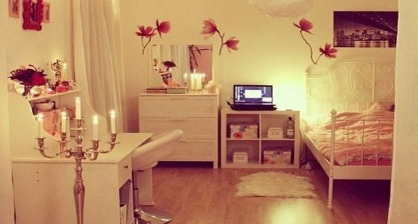 Cute Rooms Ideas Tumblr Girl Room Inspiration Hipster