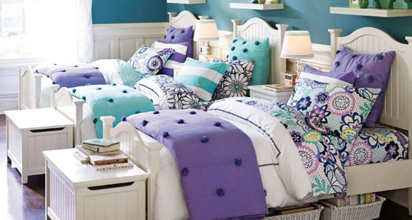 Cute Twins Triplets Teenage Girl Bedroom Ideas