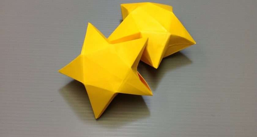 Daily Origami Star Box Youtube