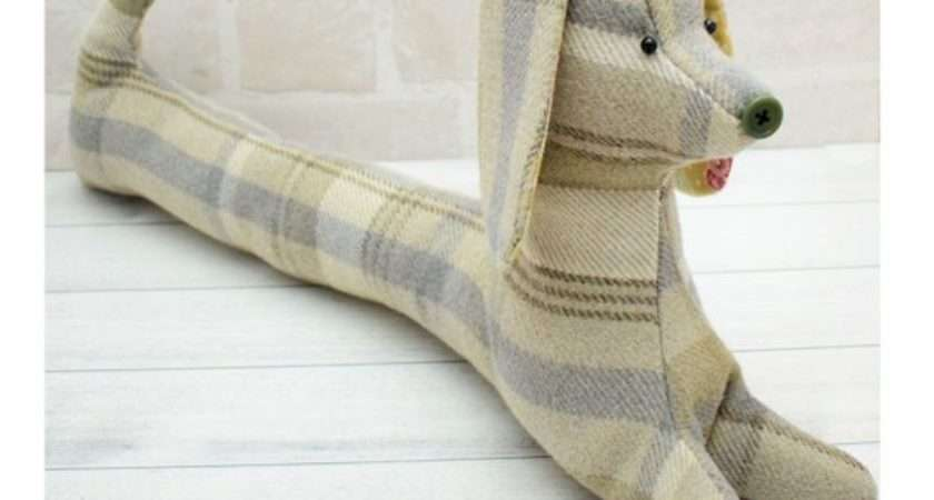 Daisy Draught Excluder Dog Pdf Pattern Instant