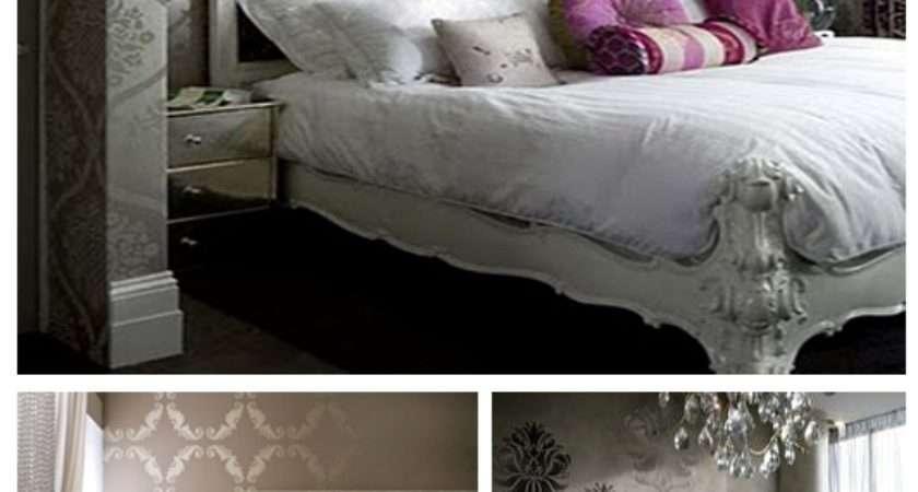 Damask Bedroom