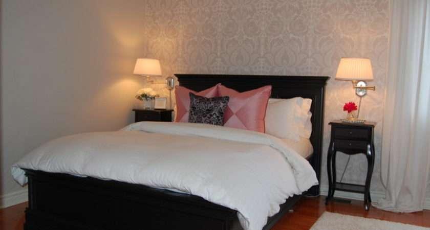 Damask Master Bedroom