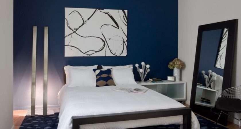 Dark Blue Bedroom Feature Walls Ideas Fresh Bedrooms