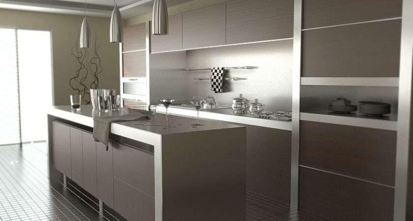 Dark Brown Latest Kitchen Design Home Advice