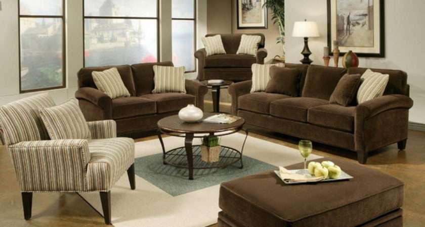 Dark Brown Sofa Living Room Design
