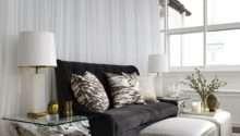 Dark Gray Velvet Sofa Eclectic Living Room New