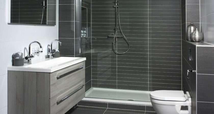 Dark Grey Shower Tiles Bathroom Pinterest Tiled Showers Matte