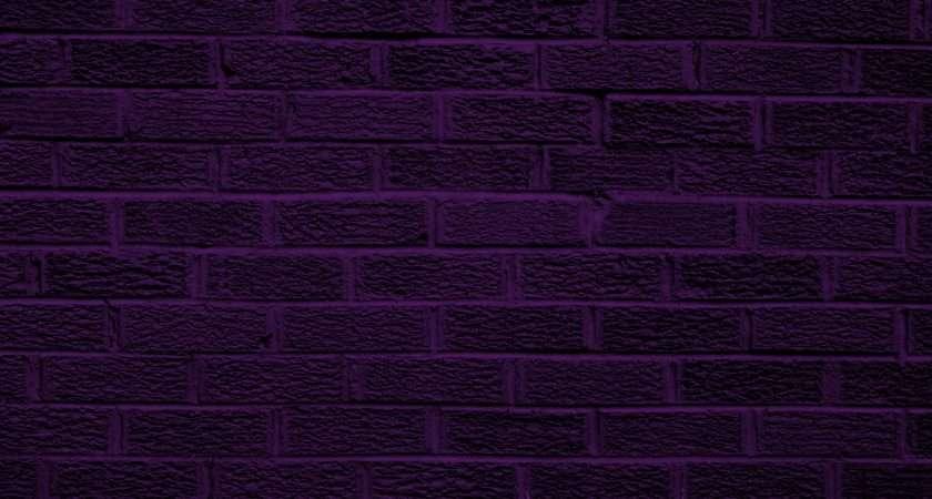 Dark Purple Brick Wall Texture Photograph Photos
