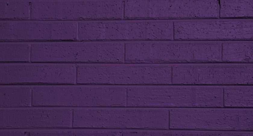 Dark Purple Painted Brick Ball Texture High