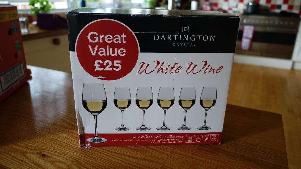 Dartington Crystal White Wine Glasses United Kingdom Gumtree