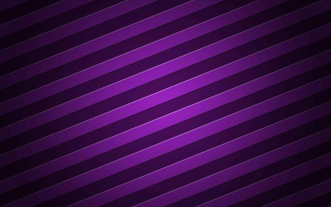 Dazzle Purple Stripe Wide