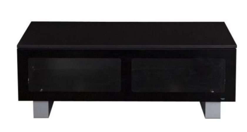 Dealdey Black Glass Slimline Stand Argos