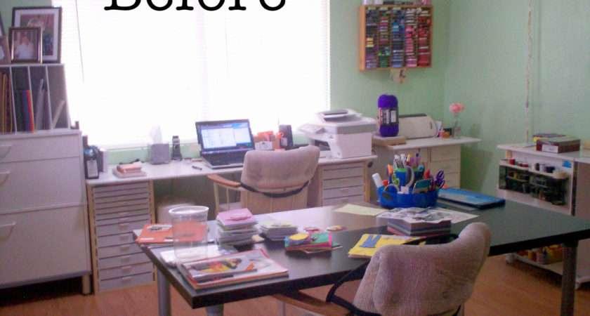 Deb Craft Room Declutter