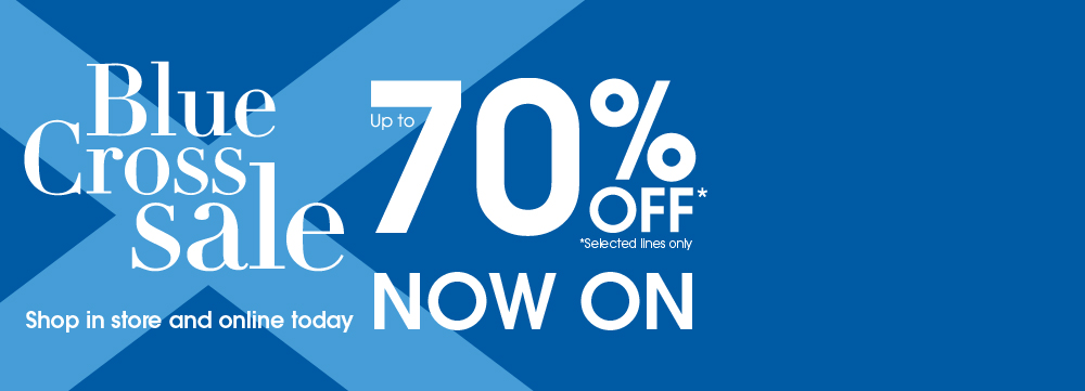 Debenhams Blue Cross Sale Voucher Code