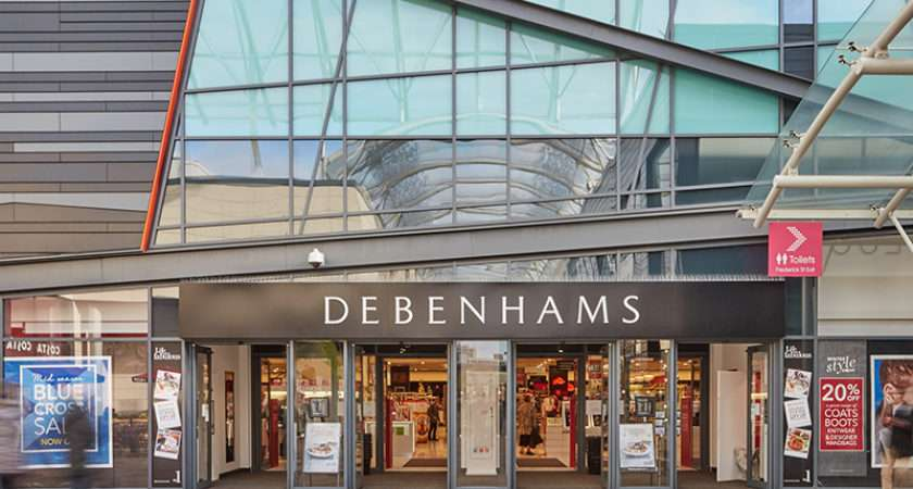 Debenhams Trinity Walk Shopping Centre