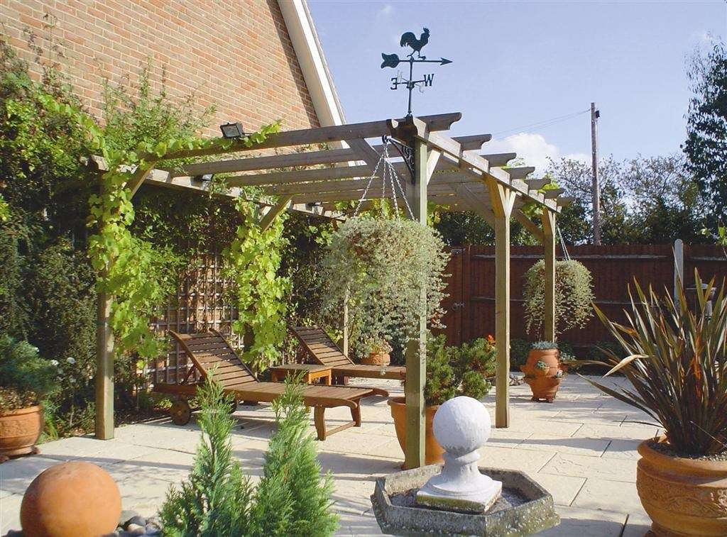 Decking Pergolas Trellis Outdoor Living Jacksons Fencing