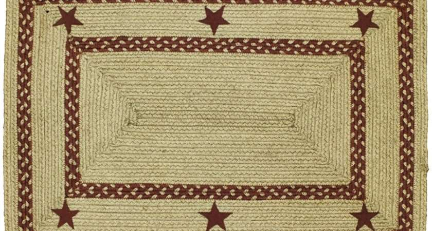 Decor Cotton Braided Rugs Country Jute